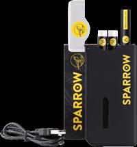 portables Schnelllade-Gerät mit mini-USB Ladekabel